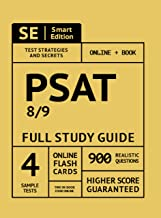 PSAT 8/9 Full Study Guide: Complete Subject Review with 4 Full Practice Tests Book + Online, PLUS online flashcards