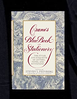 Crane's Blue Book of Stationery