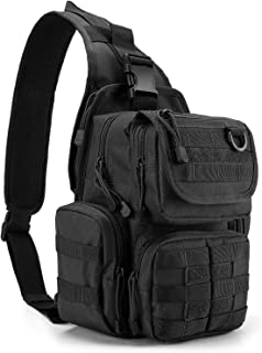 G4Free Tactical Sling Bag Pack with Pistol Holster Range Daypack Backpack