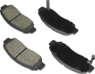 Bosch BE959H Blue Disc Brake Pad Set with Hardware for Select Acura CSX (Canada) and Honda Accord, Civic Vehicles - FRONT