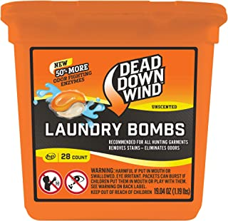 Dead Down Wind Laundry Bombs – Odor Elimination for Hunting Gear