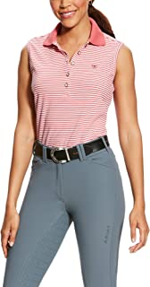 Women's Prix Sleeveless Polo Shirt