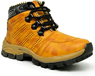 KingKarlos Kids Casual Boots for Boys
