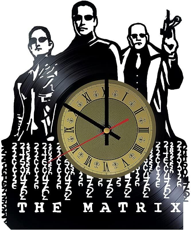 The Matrix Vinyl Wall Clock Neo Unique Gifts Living Room Home Decor