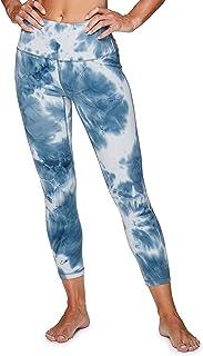 RBX Active Women's Gym Yoga Capri Length Workout Leggings with Mesh