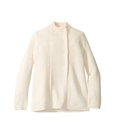 Janie and Jack Sweater Coat (Little Kids/Big Kids) (White) Girl