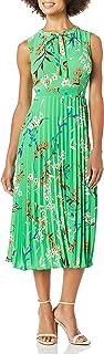 Donna Morgan womens PLEATED DRESS Dress