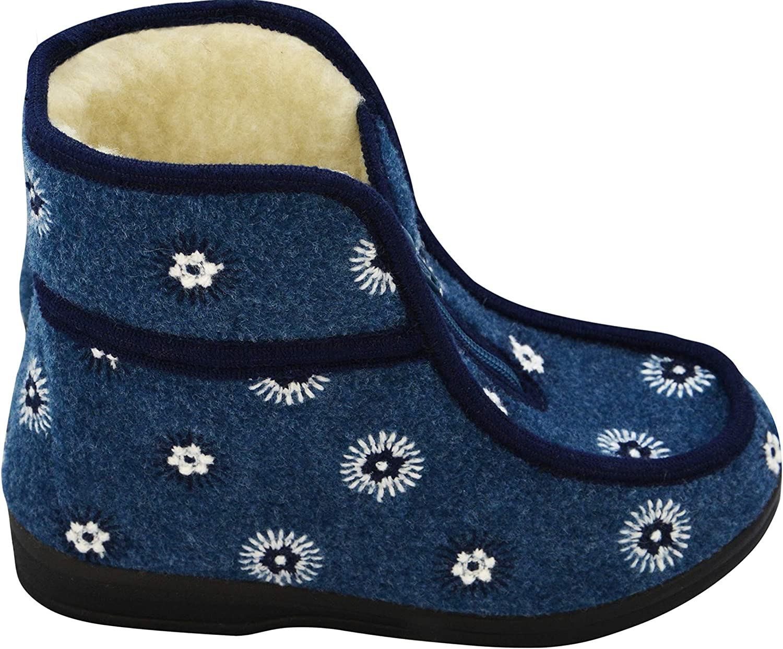 scarpa di lana modello pantofola  YVES in 100/% lana linea BAABUK comfort