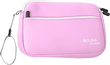 DURAGADGET Pink Protective Neoprene Pouch - Suitable for use with Maxtor D3 Station External Hard Drive 2TB STSHX-D201TDBM   3TB STSHX-D301TDBM   4TB STSHX-D401TDBM & 5TB STSHX-D501TDBM