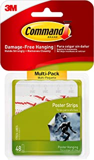 Command 17024VP Poster Strip, wit, 48