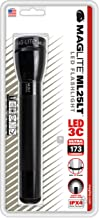 Maglite ML25LT LED 3-Cell C Flashlight, Black