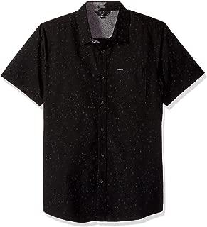 Men's Smashed Start Button Up Short Sleeve Shirt