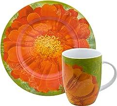 Waechtersbach Petal Power Salad and Mug Set, Daisy Design