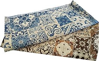 Tessuto al metro Scampolo Cotone 280 Floreale Colorato per Cuscini Divano Tavola