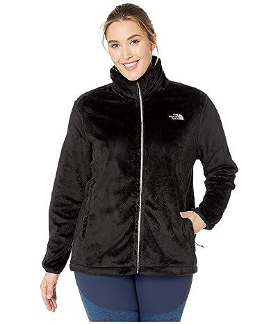 The North Face Osito Jacket (TNF Black Matte Shine) Women