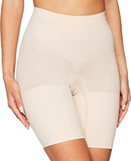 SPANX Women's Power Shorts Soft Nude Large