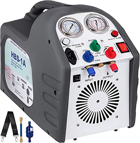 discount Mophorn Recovery HVAC Machine 115V Recovery wholesale outlet sale Machine 60HZ Portable Refrigerant Recovery Machine outlet sale