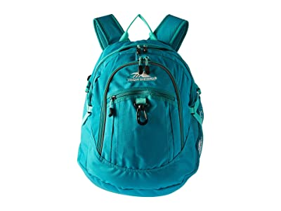 High Sierra Fat Boy Backpack (Turquoise/Aquamarine) Backpack Bags