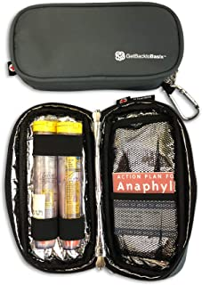 GetBacktoBasix EpiPen Carrying Case   Small Insulated Bag   Allergy Medicine Adult