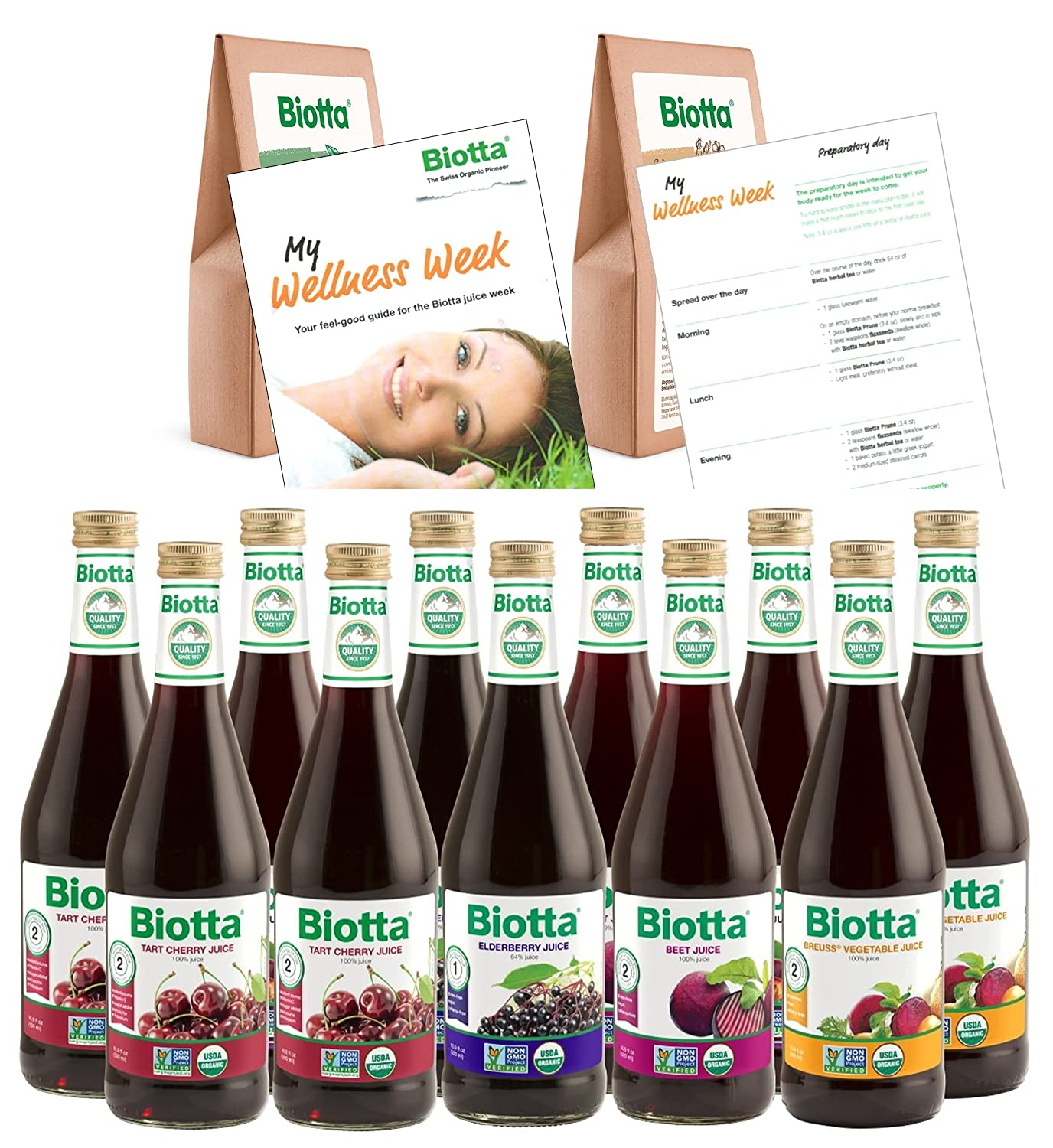 OFFicial mail order Biotta Wellness Week - Ideal Juice Includes Cleanse Superfoods 5 ☆ popular