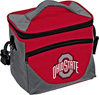 logobrands Collegiate 9-Can Cooler Tote with Front Dry Storage Pocket and Shoulder Strap