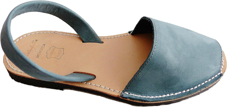 Authentic Menorcan Sandals, color Tejano, Avarcas Menorquínas Abarcas, Albarcas.
