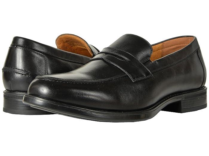 Men's 1950s Shoes Styles- Classics to Saddles to Rockabilly Florsheim Midtown Penny Slip-On $99.95 AT vintagedancer.com