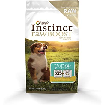 Instinct Raw Boost Grain Free Recipe Natural Dry Dog Food By Nature'S Variety Puppy Chicken
