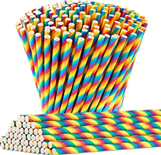 Best rainbow paper straws Reviews