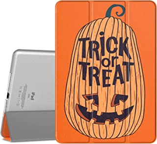 MoKo Case Fit iPad Air 2, Halloween Slim Lightweight Smart-Shell Stand Cover with Translucent Frosted Back Protector Fit Apple iPad Air 2 9.7