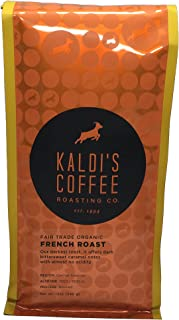 Kaldi's Coffee Roasting Co - Fair Trade Organic French Roast - 12oz Foil Bag