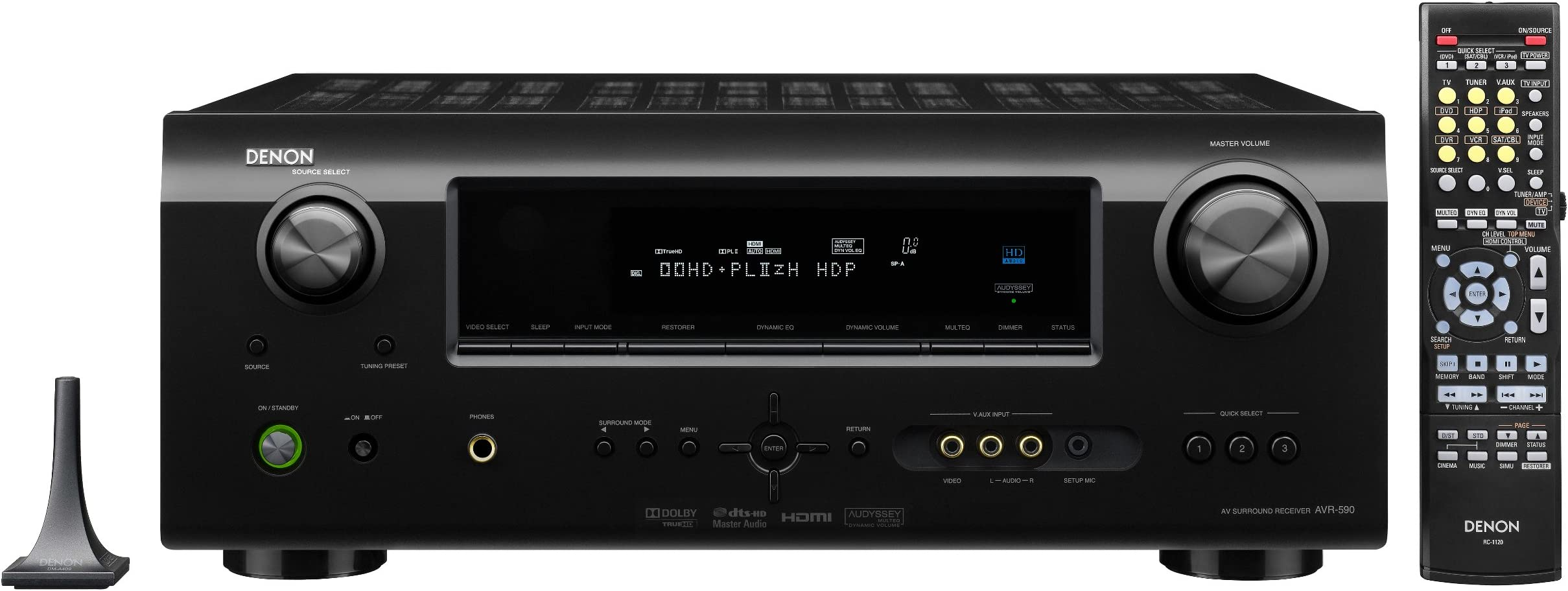 Denon AVR-391 5.1 Channel AV Home Theater Receiver with HDMI 1.4a Black Discontinued by Manufacturer