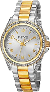 ساعة فيدا بحركة كوارتز وعرض انالوج وسوار مصنوع من خلائط معدنية للنساء من اوغست شتاينر