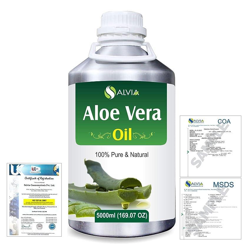 滑る理論接続詞Aloe Vera 100% Natural Pure Undiluted Uncut Carrier Oil 5000ml/169 fl.oz.