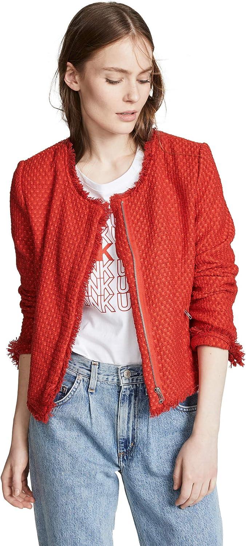 BB DAKOTA womens Feeling Fancy Tweed Jacket