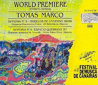 Marco Tomás : Symphonies No. 4 & 5