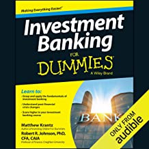 investment banking audiobook