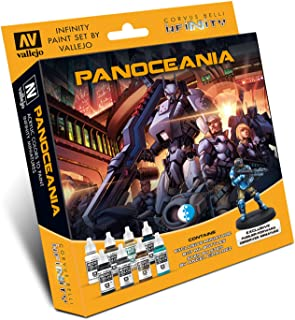 70231 Infinity Panoceania Exclusive Miniature Acrylic Paint Set