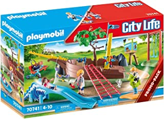 PLAYMOBIL City Life 70741 Adventure Playground with Shipwreck from 4 Years