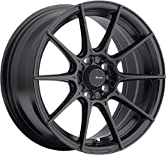 Advanti Racing Storm S1 15 Black Wheel / Rim 4x100 with a 25mm Offset and a 73.1 Hub Bore. Partnumber SM58100305