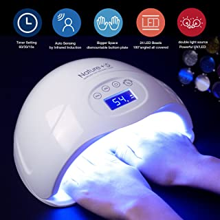Nail Dryer, 48W LED UV Nail Lamp for Gel Nail Polish with Sensor and Timer Setting by SEXY MIX