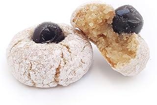 Siciliaanse amandel petit fours met moerbeibessen uit Sicilië (doos 400gr). RAREZZE: cannoli en cassate van AMBACHTELIJK S...