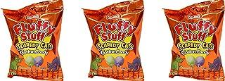 Fluffy Stuff Cotton Candy, 2.1 oz, 3 pack (Scaredy Cat)