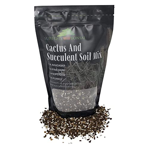 Free Shipping Pre-Mixed Fast Draining Blend 1.2.. Succulent /& Cactus Soil Mix