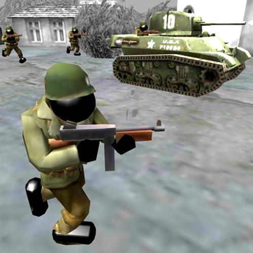 Stickman Simulador batalla: Segunda Guerra