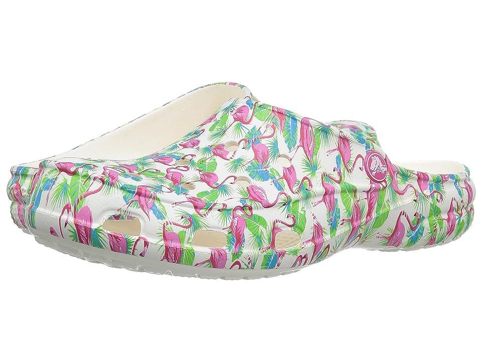 Crocs Freesail Summer Fun Clog (Flamingo) Women