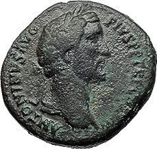 1000 IT ANTONINUS PIUS Marcus Aurelius father Sestertiu A coin Good
