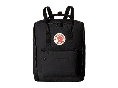 Fjallraven Kanken (Black) Backpack Bags