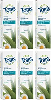 Best tom's of maine toothpaste ingredients list Reviews