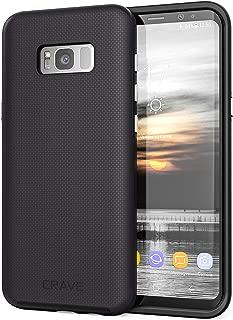 S8 Plus Case, Crave Dual Guard Protection Series Case for Samsung Galaxy S8 Plus - Black